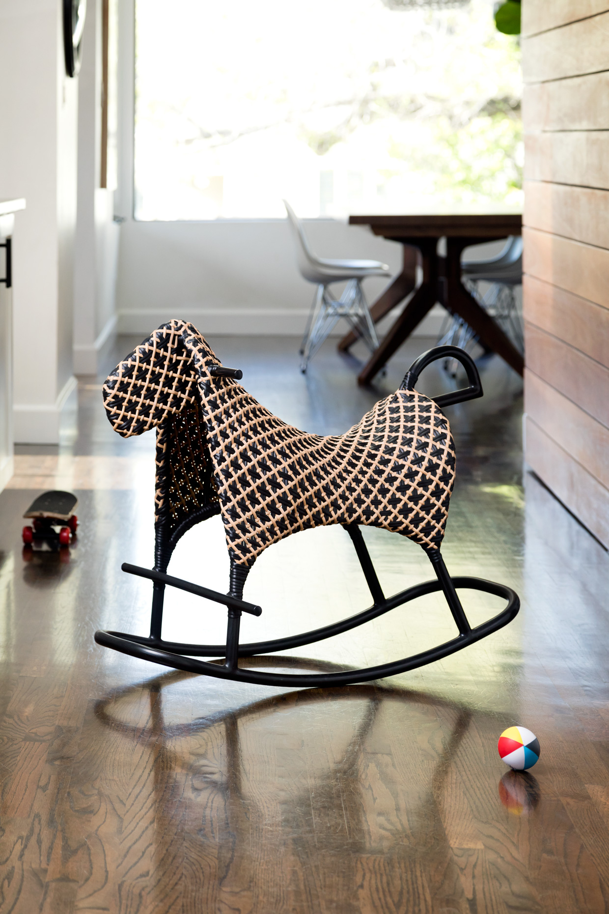 SiriBerting, SiriBertingPhotography,  Interiors, rocking  horse, clean design